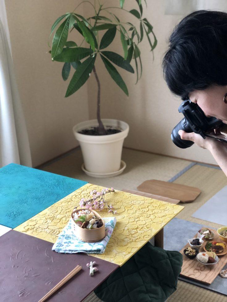 和食スタイリング写真撮影用背景ボードづくり大阪