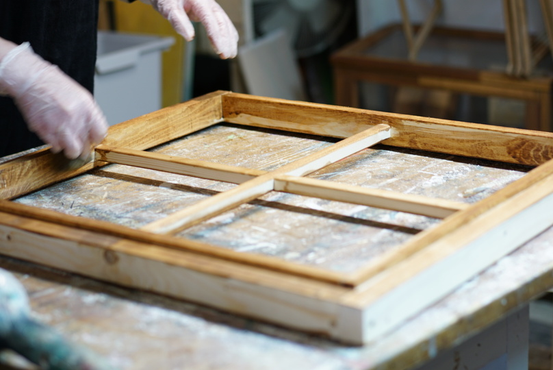 DIY窓枠作りワークショップ