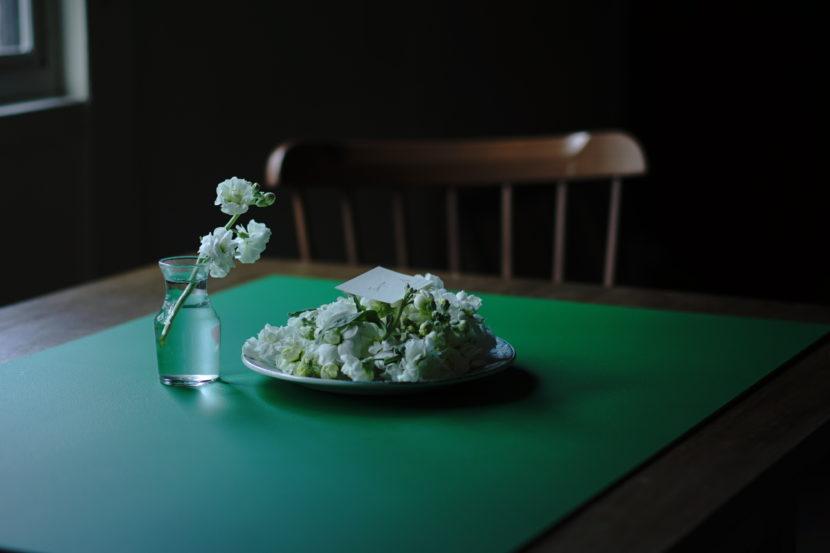 グリーンの撮影ボード