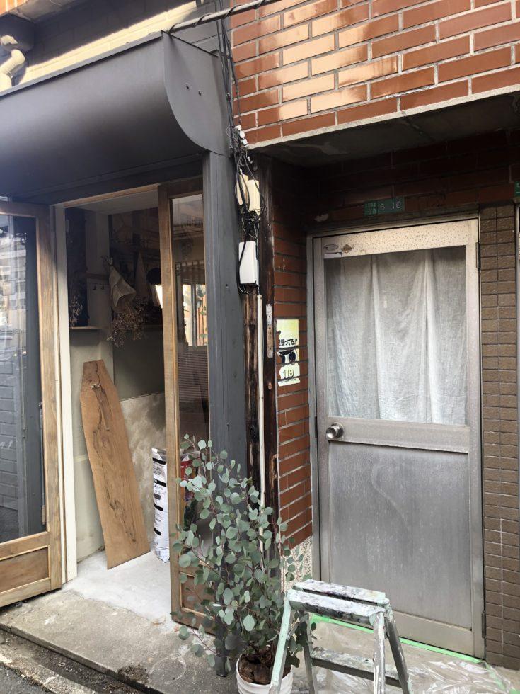 北加賀屋のアトリエ長屋改装